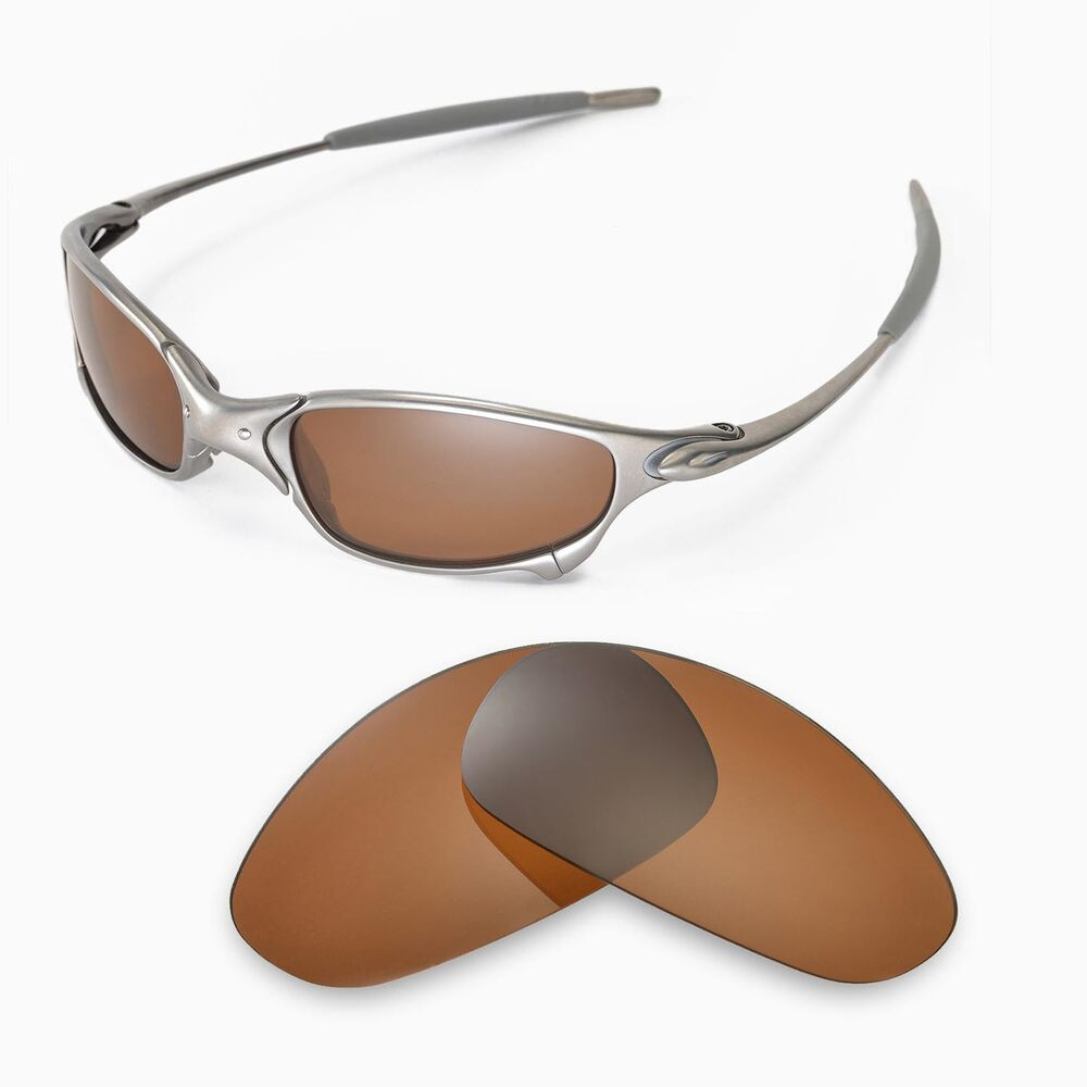 New Walleva Polarized Brown Replacement Lenses For Oakley ...