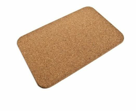 New Luxury Large Cork Bath Mat Bathroom Shower Rectangular Non Slip