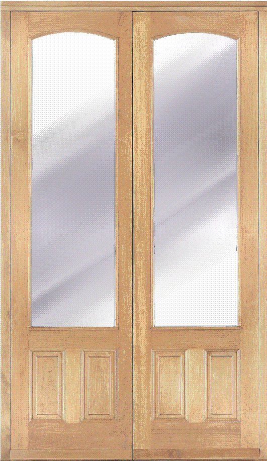 4ft approx external french patio doors solid hardwood for External double doors and frames
