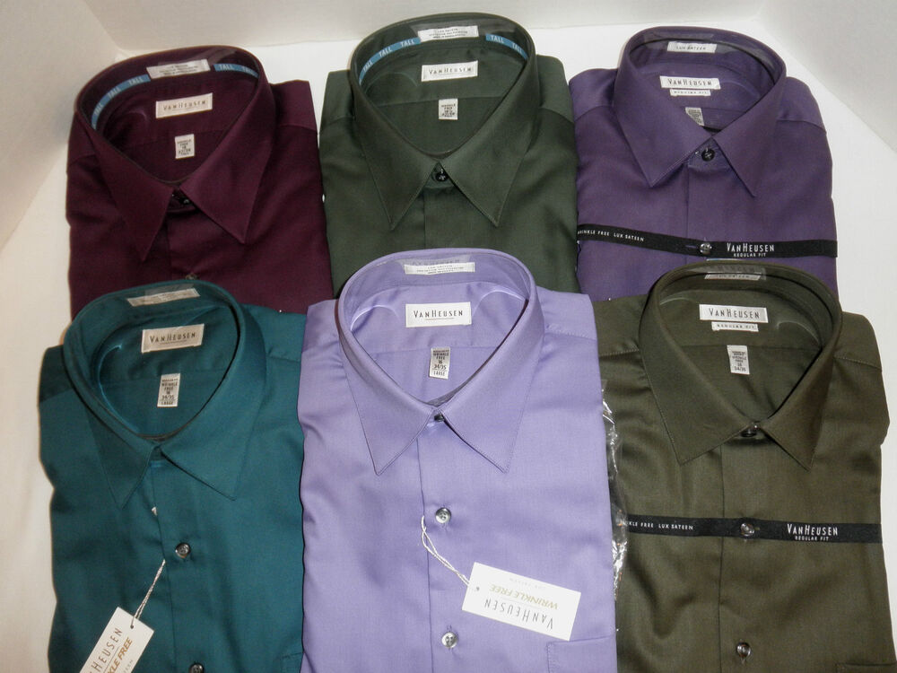 Mens Dress Shirts Tall Sizes