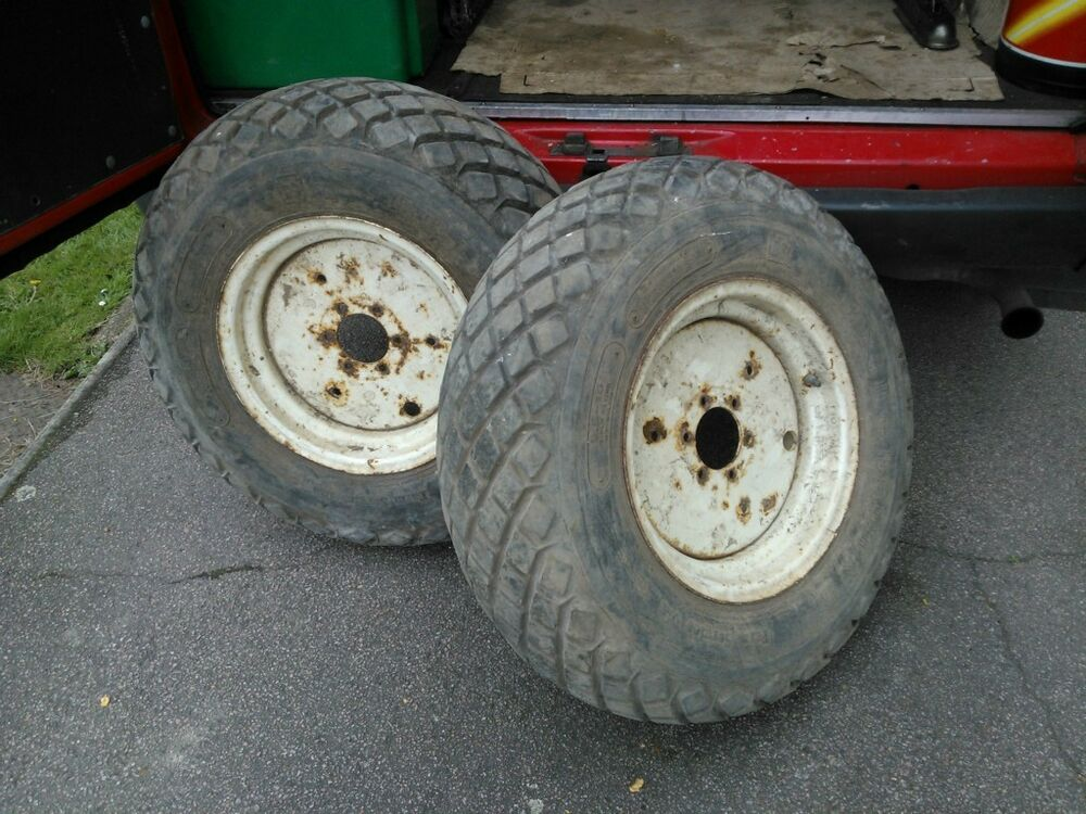 Kubota L245 Tractor Rear Wheel : Iseki kubota ford shibaura tractor rear wheels with