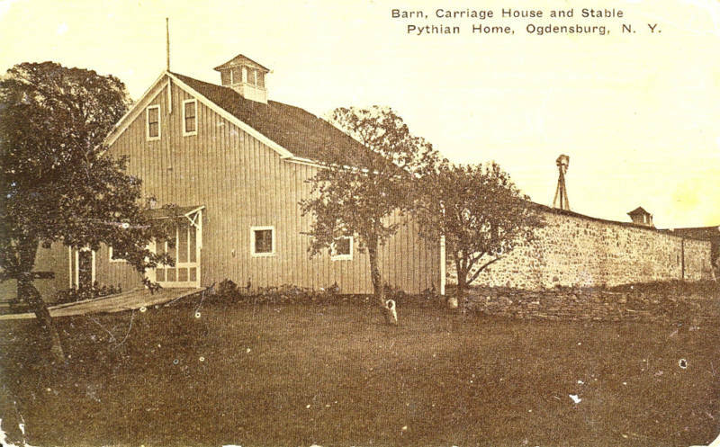 Ogdensburg ny barn carriage house stable pythian home ebay for Carriage house barn