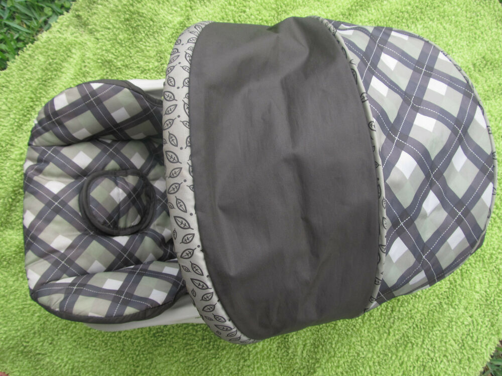replacement car seat cover canopy infant car seat baby trend flex loc ebay. Black Bedroom Furniture Sets. Home Design Ideas