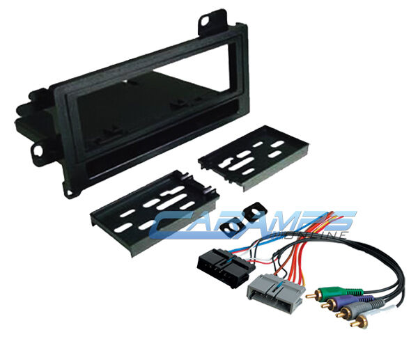 Wiring Harness Kit For Radio : New car stereo radio kit dash installation mounting trim