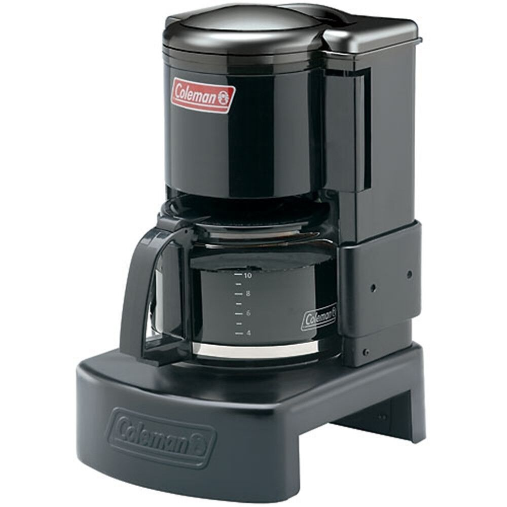 Drip Coffee Maker Camping : Coleman Camping 10 Cup COFFEE MAKER, Portable Drip COFFEE MACHINE 76501926392 eBay