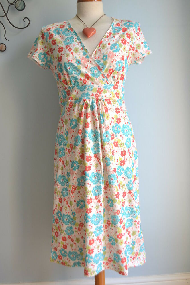 Boden lovely casual jersey summer dress wh492 size 8 18 for Boden jersey dress