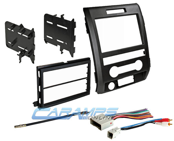 2006 f150 radio wiring diagram 09-12 f-150 double din car stereo dash install trim kit ... #5