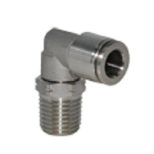 Od npt stainless steel push to connect tube