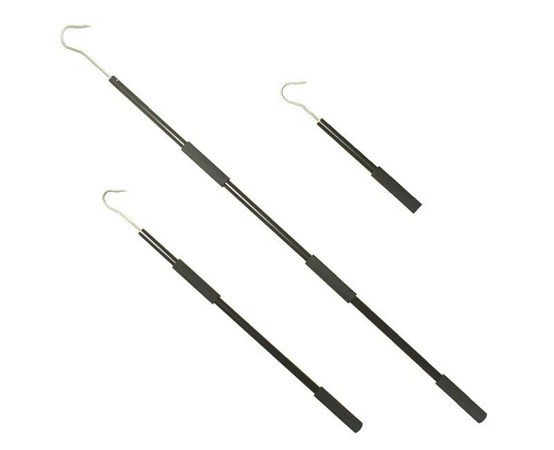 2 floating aluminum heavy duty gaff 3 39 5 39 w stainless for Fishing gaff hook