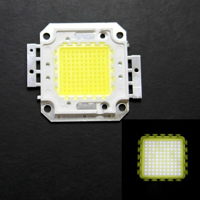 100w cool white led lamp 5500 6000k 9500lm bright light high power ebay. Black Bedroom Furniture Sets. Home Design Ideas