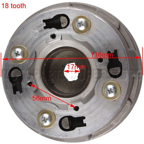 Tractor Trailer Clutches : Teeth clutch auto for cc dirt
