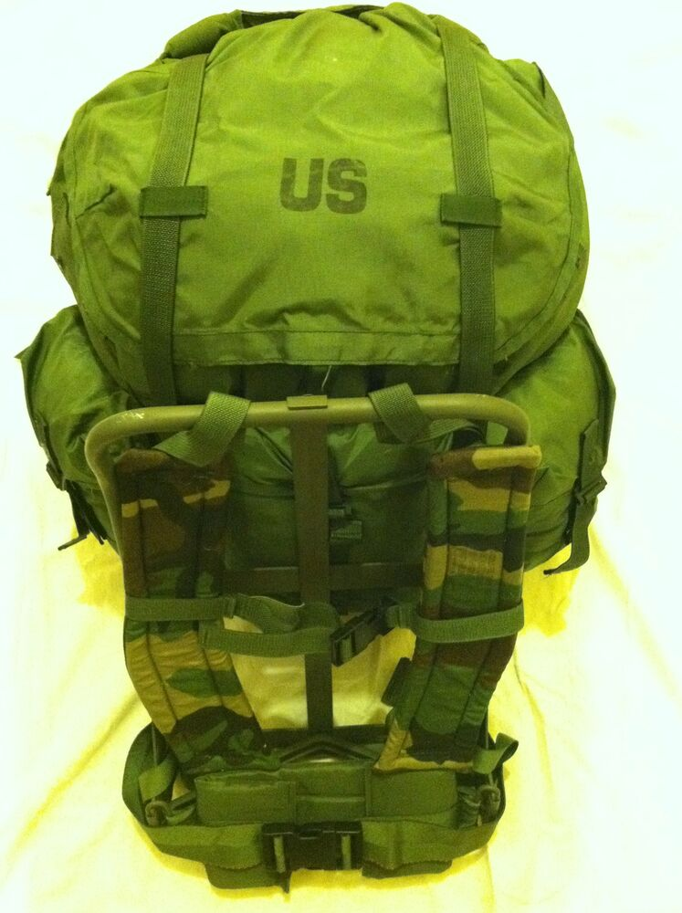 LARGE ALICE PACK W/ FRAME MILITARY ISSUE *IMPROVED