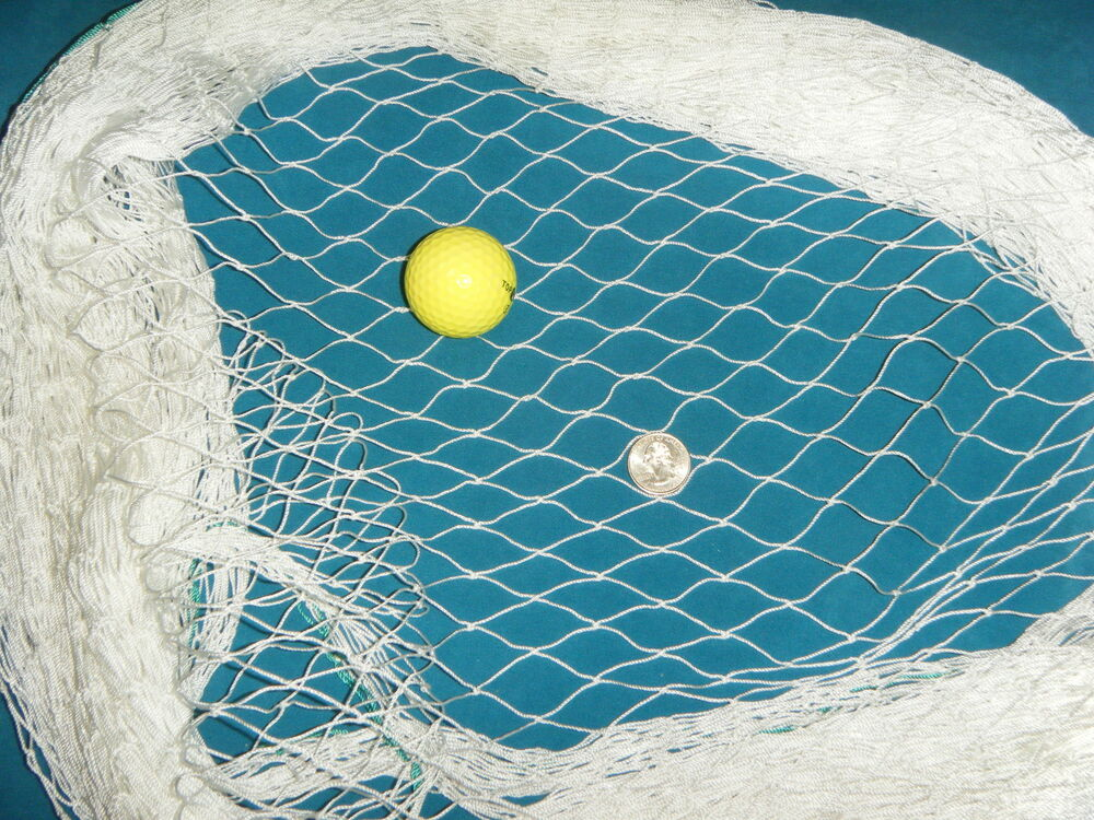 30 39 x 12 39 golf barrier backstop baseball cage fishing net for Fish pond nets