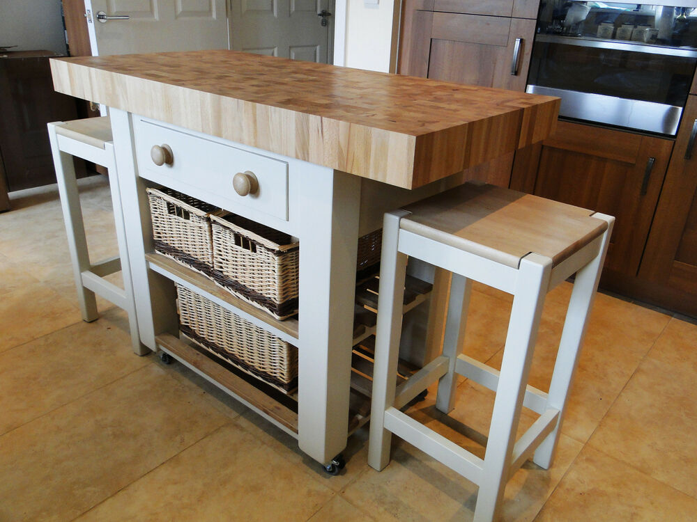 Kitchen Butchers Trolley Uk