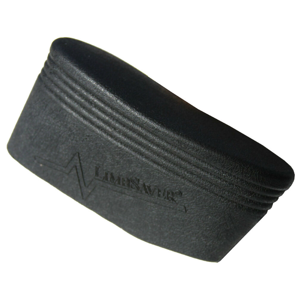Limbsaver slip on recoil pad small medium large black gun stock
