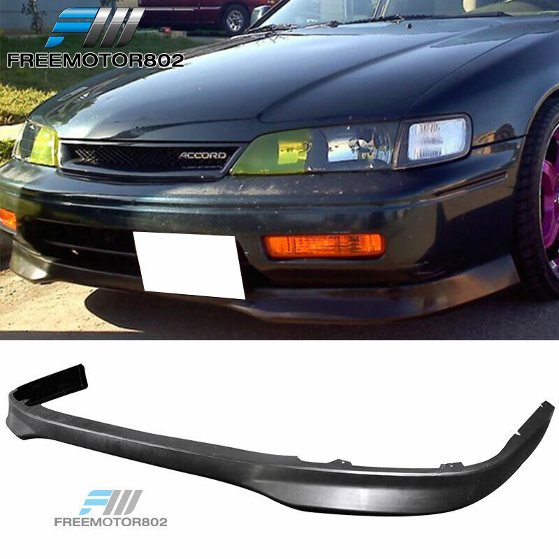 FOR 9495 HONDA ACCORD URETHANE FRONT BUMPER LIP SPOILER TYPE R