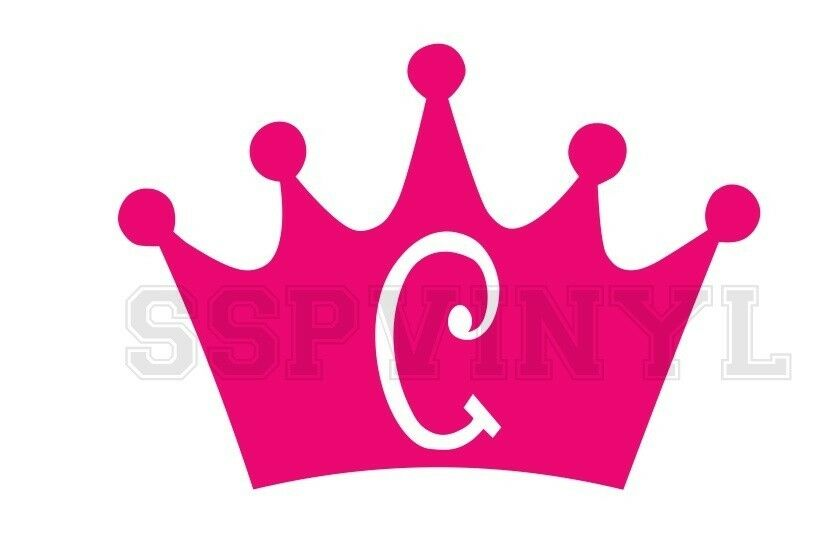 Princess Crown Custom Name Car Truck Decal Sticker Ebay