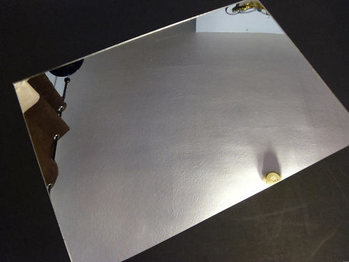 3mm Silver Acrylic Mirror Sheet A6 148 X 105 Tile Perspex