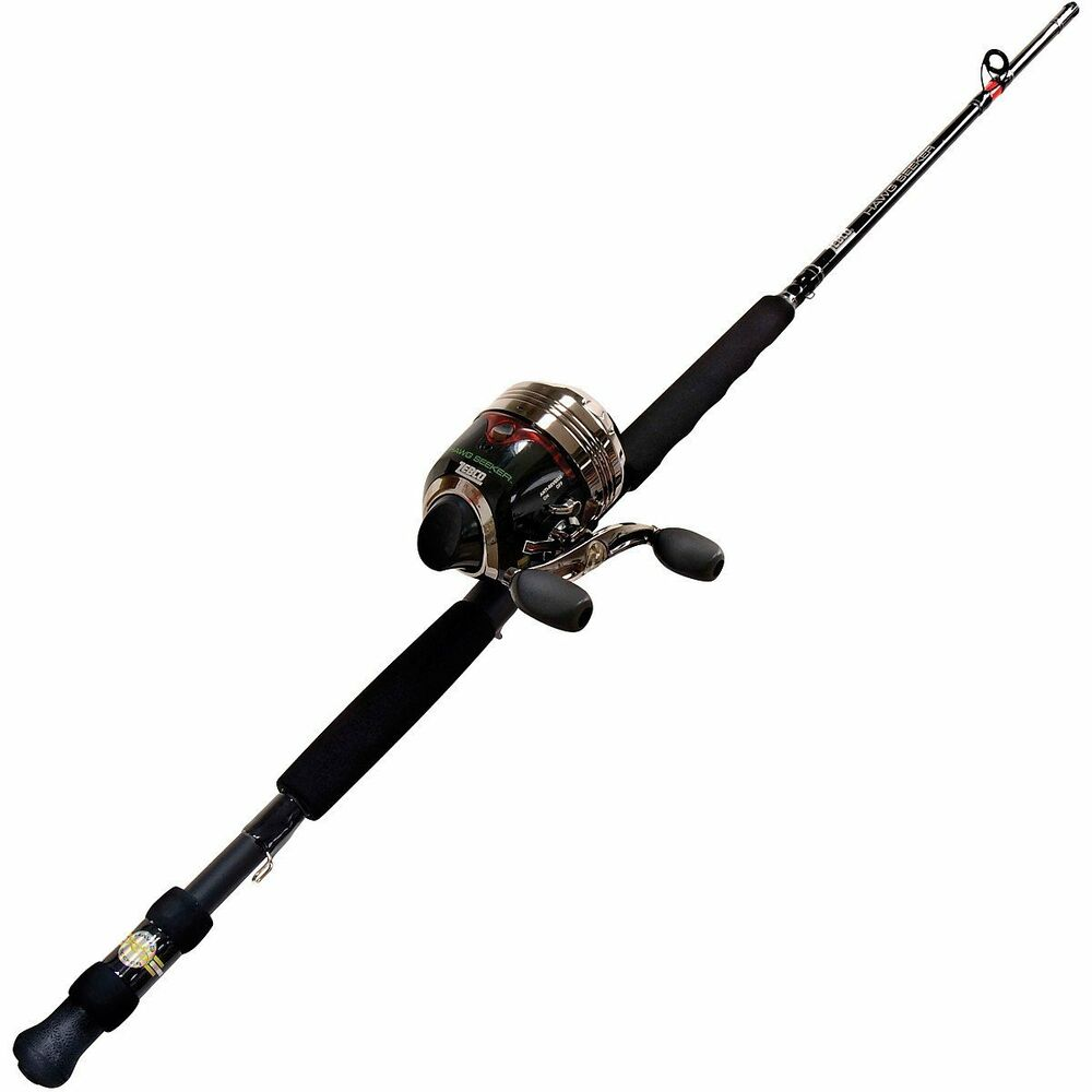 Zebco Hawg Seeker With Bite Alert Sc Fishing Rod And Reel