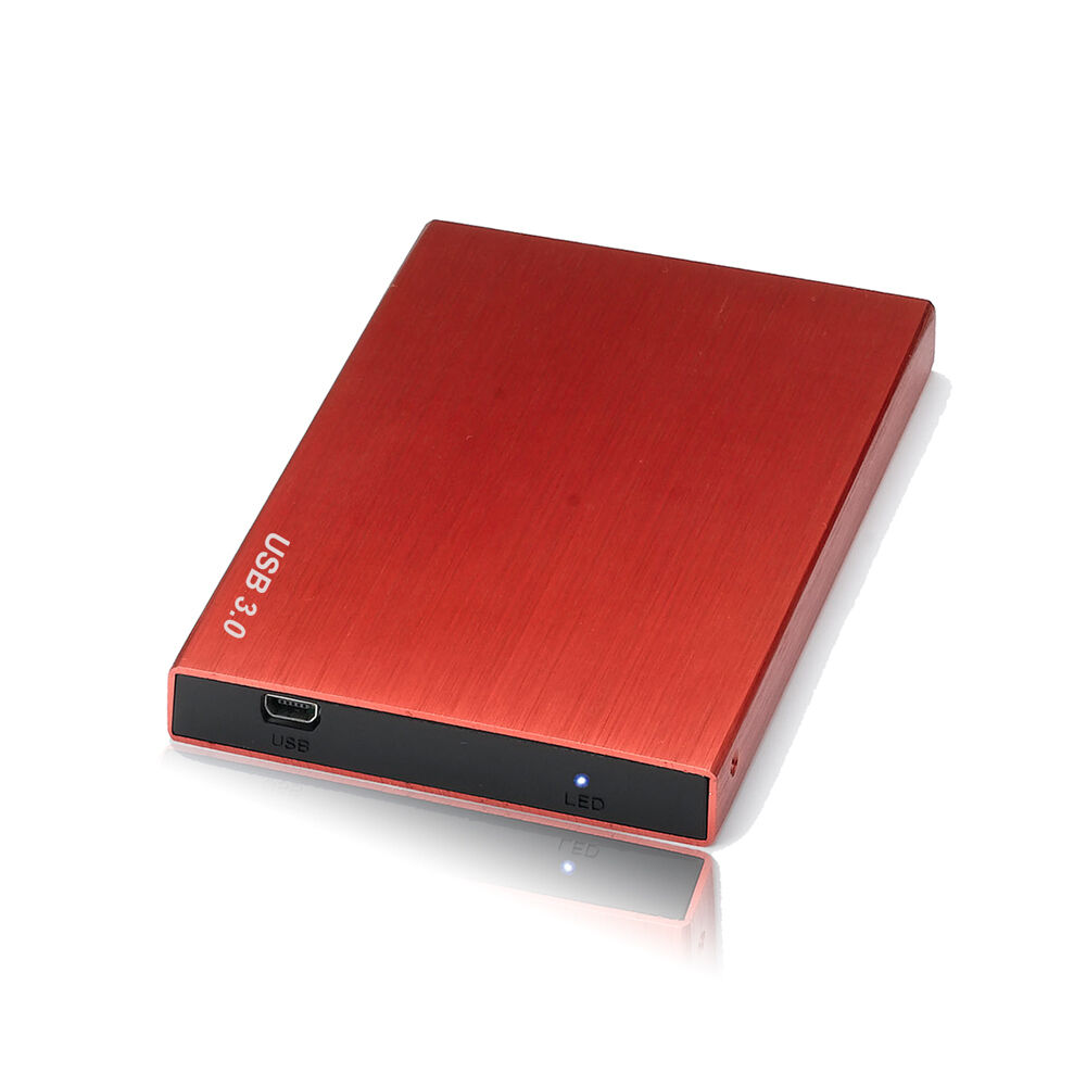 250gb external usb 3 0 hard disk drive portable pocket fr ps3 mac windows red3 ebay. Black Bedroom Furniture Sets. Home Design Ideas