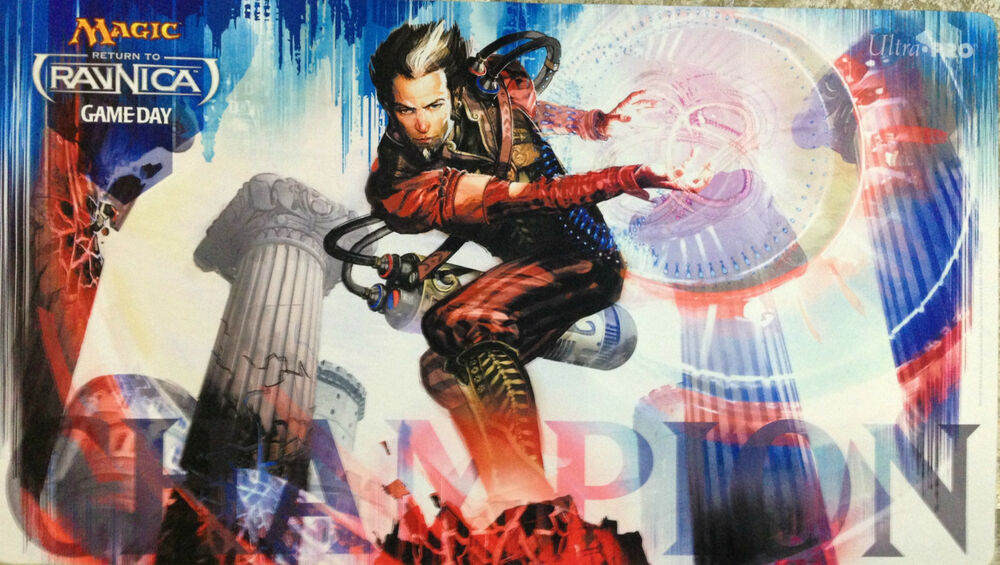 Magic The Gathering Return To Ravnica Game Day Playmat