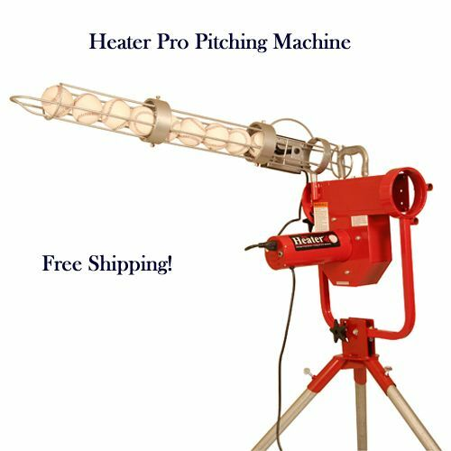 Brand New Heater Pro Pitching Machine For A Batting Cage