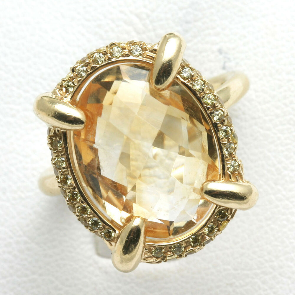 how to clean citrine ring