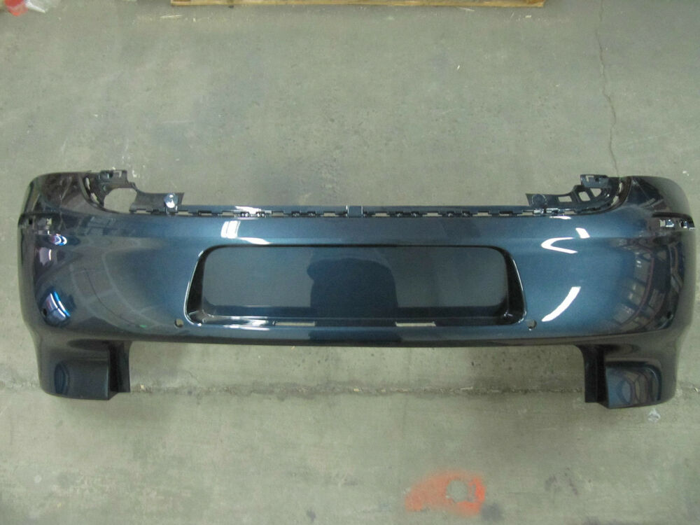 genuine oem vw mk6 golf gti euro blue metallic back bumper. Black Bedroom Furniture Sets. Home Design Ideas