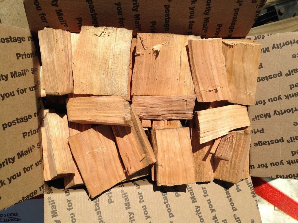 Apple Wood Chunks For Smoking Bbq Grilling Cooking Smoker Priority Shipping Ebay