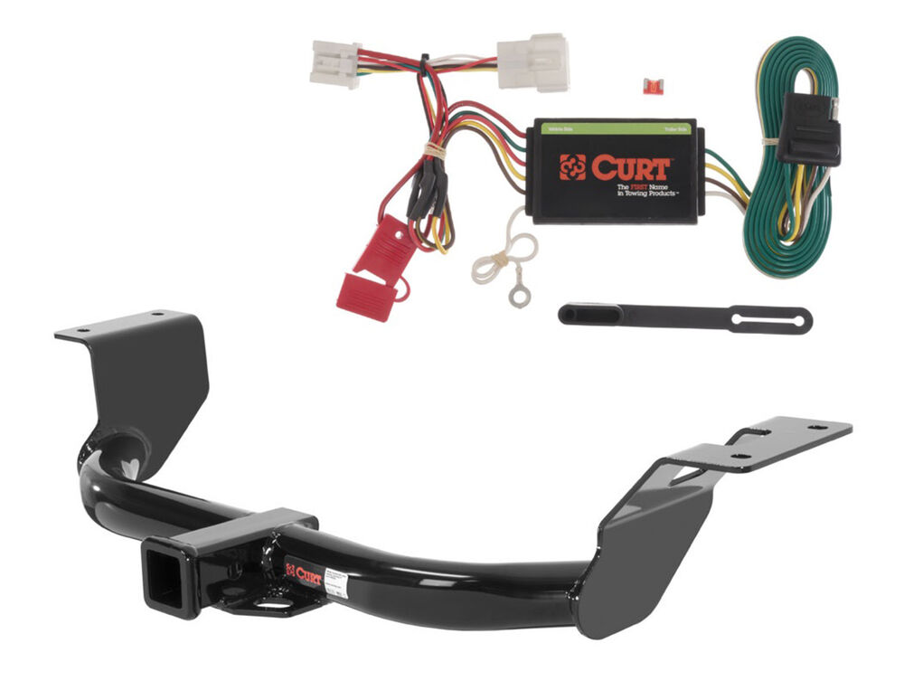 Curt class trailer hitch quot receiver wiring harness