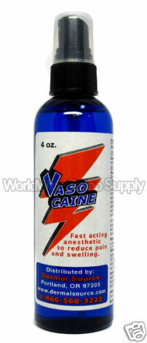vasocaine 4 oz anesthetic spray pain relief treatment