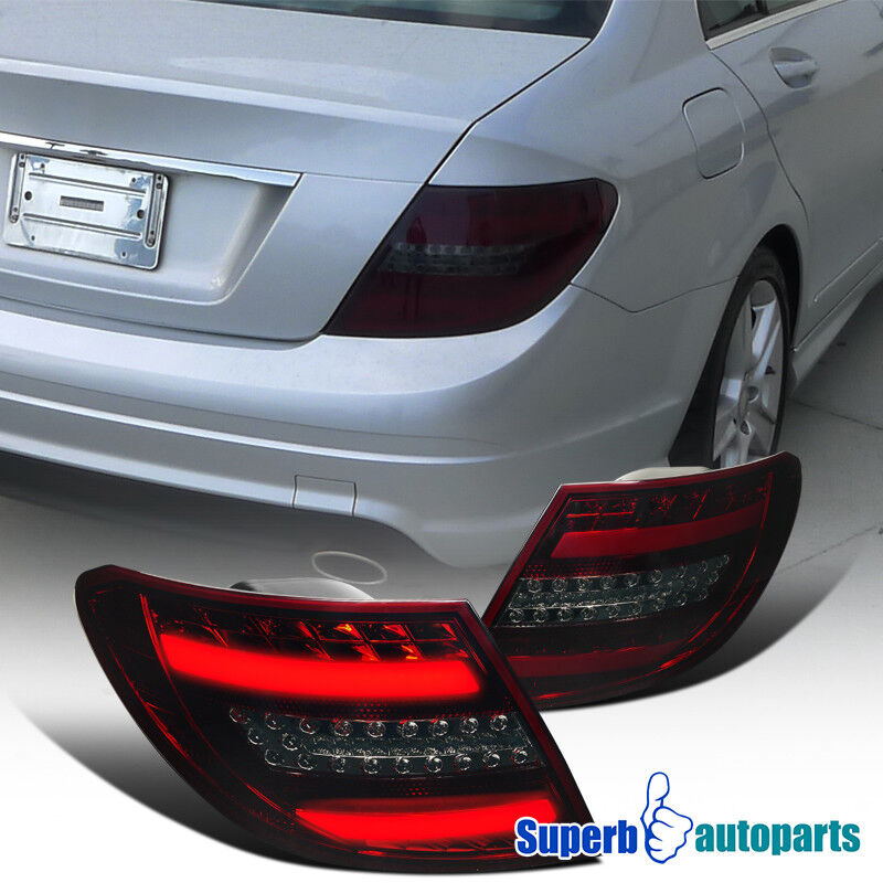 2008 2011 mercedes c class c300 c350 led brake signal tail for Mercedes benz brake light problem