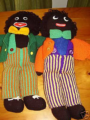 Knitted Golliwog Pattern : Hand Knitted Golly Wog / Golliwog PATTERN. ONLY eBay