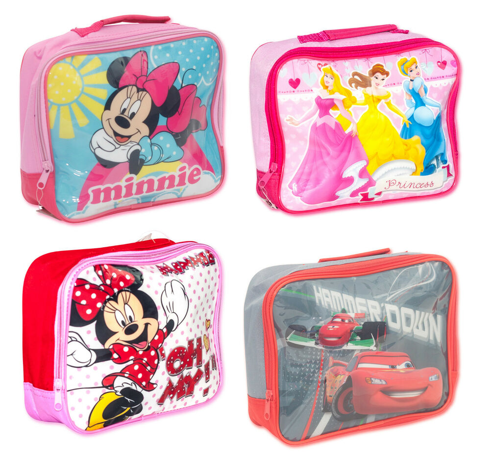 Official Disney Insulated School Lunch Bag Novelty Box