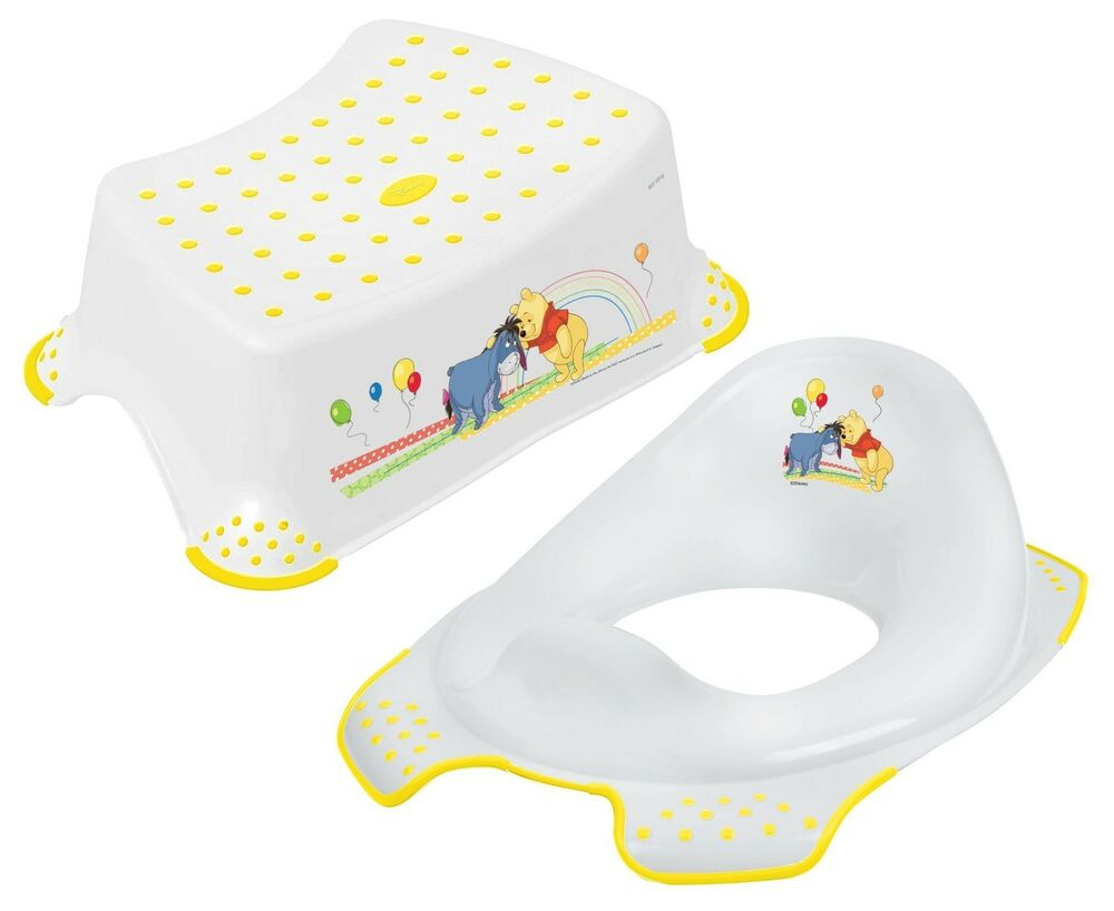 Disney Winnie The Pooh Toddler Toilet Training Seat Amp Step