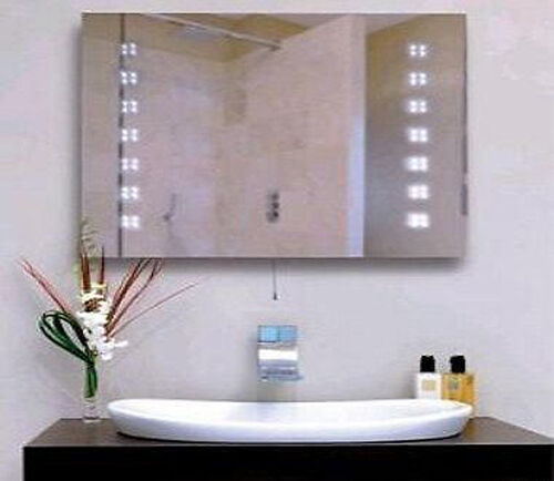 bathroom illuminated mirrors led illuminated bathroom mirror ebay 10802