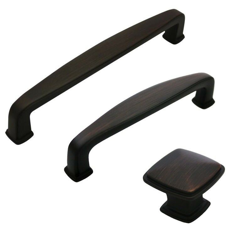 cosmas oil rubbed bronze cabinet hardware handles pulls oil rubbed bronze kitchen cabinet hardware pulls ebay