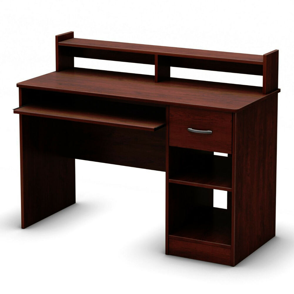 new south shore axess collection student office computer desk royal