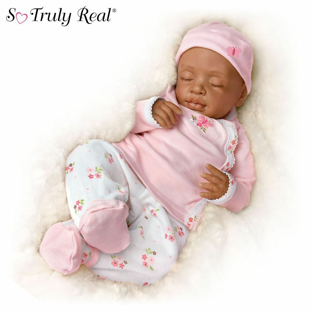 Ashton Drake Andrea Arcello Ashley Breathing Lifelike Baby ...