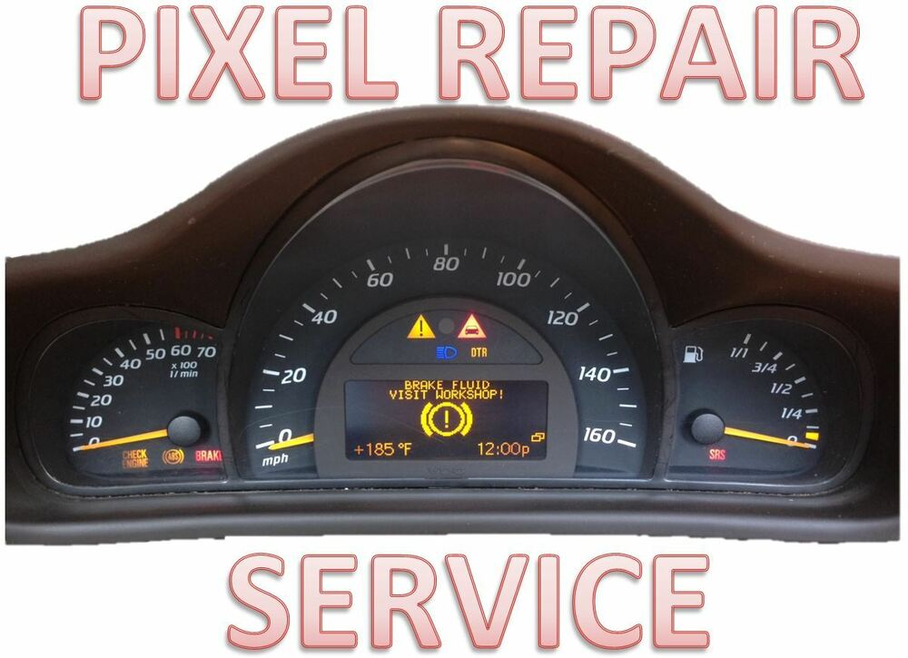 Mercedes benz w203 c class instrument cluster lcd display for Mercedes benz cluster repair