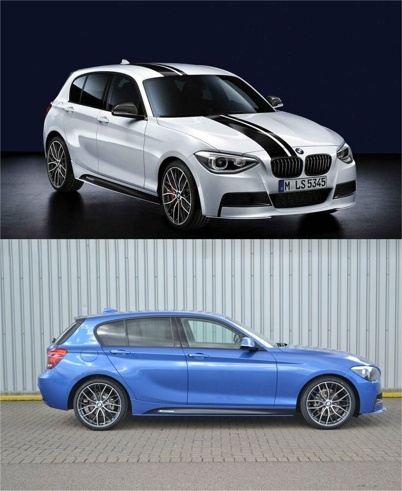 bmw m sport f20 m performance side skirt stickers decals vinyl graphics 1 series ebay. Black Bedroom Furniture Sets. Home Design Ideas