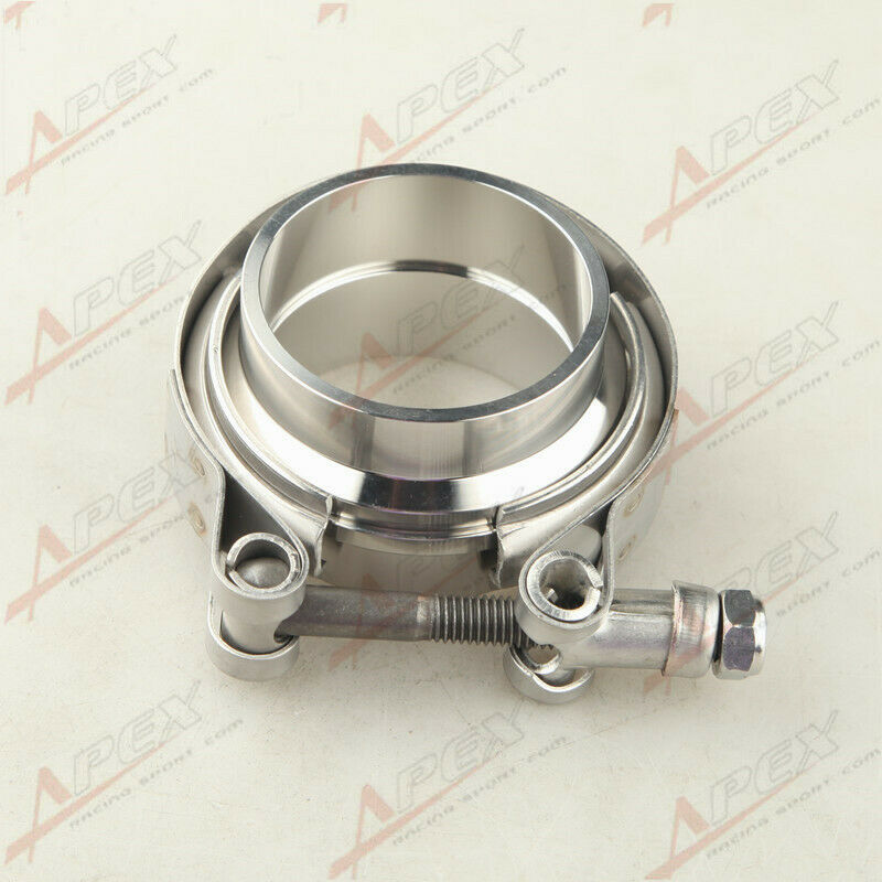 2'' V-Band Flange & Clamp Kit For Turbo Exhaust Downpipes ...