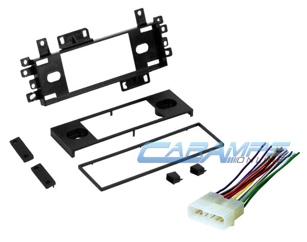 Jeep Car Stereo Radio Cd Player Dash Installation Trim Kit