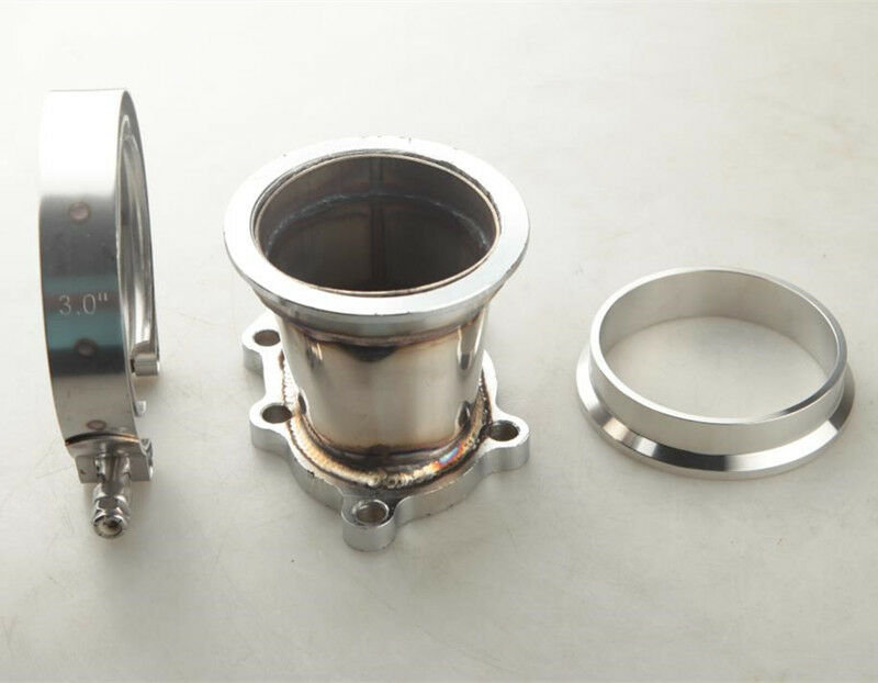 "GT25R GT28R 5 BOLT TO 3"" INCH V-BAND VBAND CLAMP FLANGE ..."
