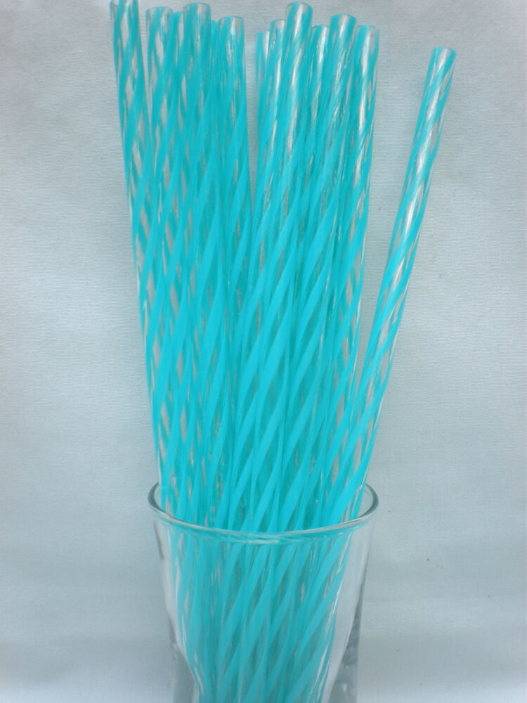reusable straws clear swirly colors acrylic 9 u0026quot  straws no