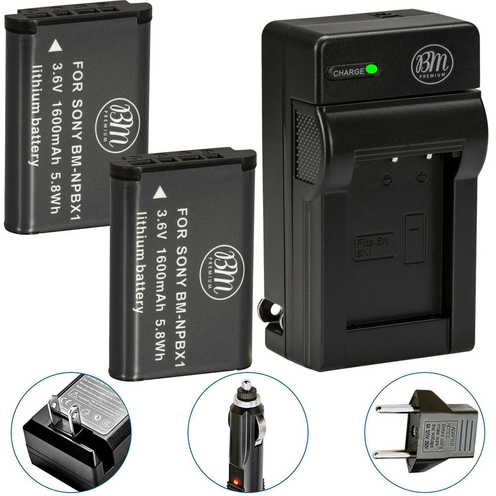 2 Np Bx1 Npbx1 Battery Amp Charger For Sony Dsc H400 Hx300