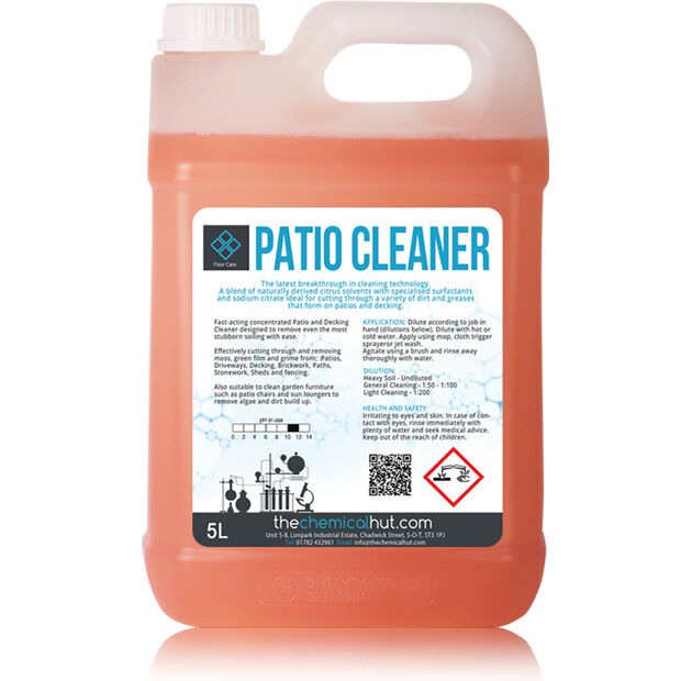 5l eco safe patio decking path driveway cleaner dirt for Driveway cleaning chemicals