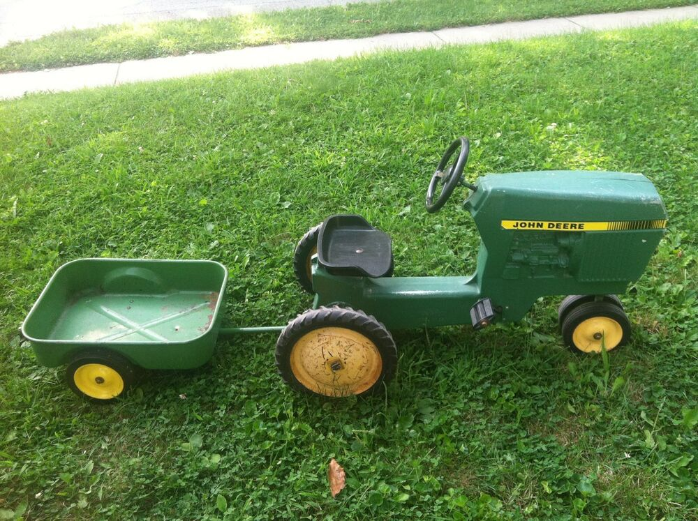 John Deere Tractor Cars : Pedal tractor ebay upcomingcarshq