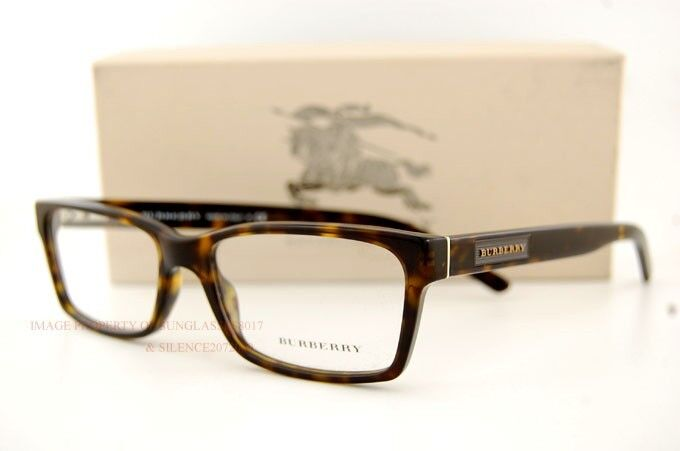 Eyeglass Frames Burberry : Brand New BURBERRY Eyeglass Frames BE 2108 3002 HAVANA 100 ...