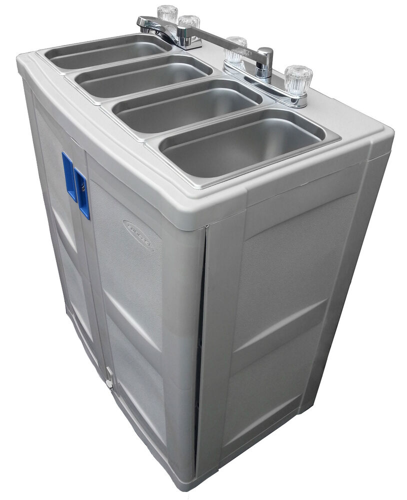 Portable Sink With Hot Water Freestanding Catering Sink